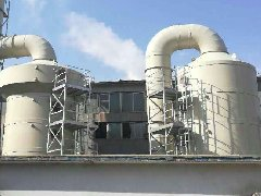 威海鱼粉加工饲料厂废气